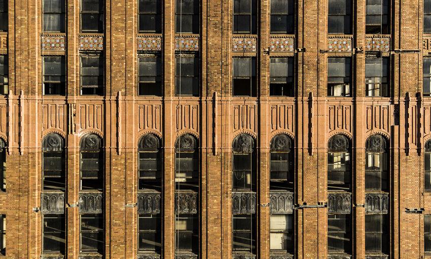 Full Frame Shot Of David Stott Building
