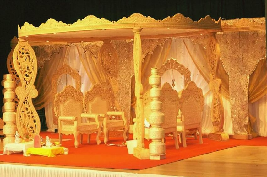 Indian Wedding Mandap HAPPIESTDAYOFMYLIFE Beatiful Day Indianphotography