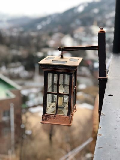 lamp ShotOnIphone Iphone8plus IPhoneography Focus On Foreground No People Day Outdoors Close-up Architecture
