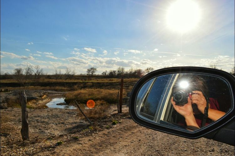 Hanging Out Selfie Rural Scenes Eye4photography  Nikon D3200 Texas Sky