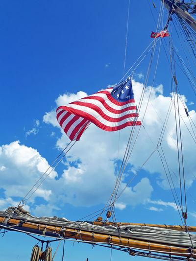 Flag on