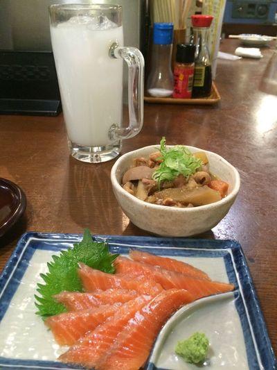 Totally ¥1000! Bar Food Food And Drink Freshness Healthy Eating Indoors  Izakaya Night No People Ready-to-eat Sashimi  Sermon Shinjuku Table
