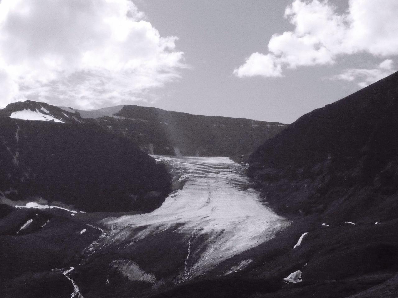 View Of Snow On Mountain At Disco Island