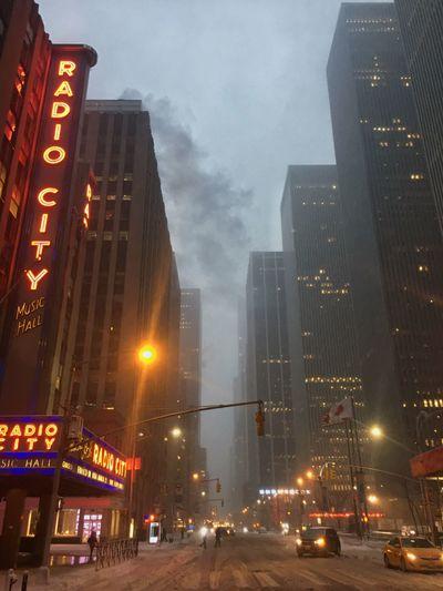 """""""STELLLLAAAAAAA"""" Winter Storm Stella Blizzard 2017 Stella Radio City Music Hall NYC NYC Street"""