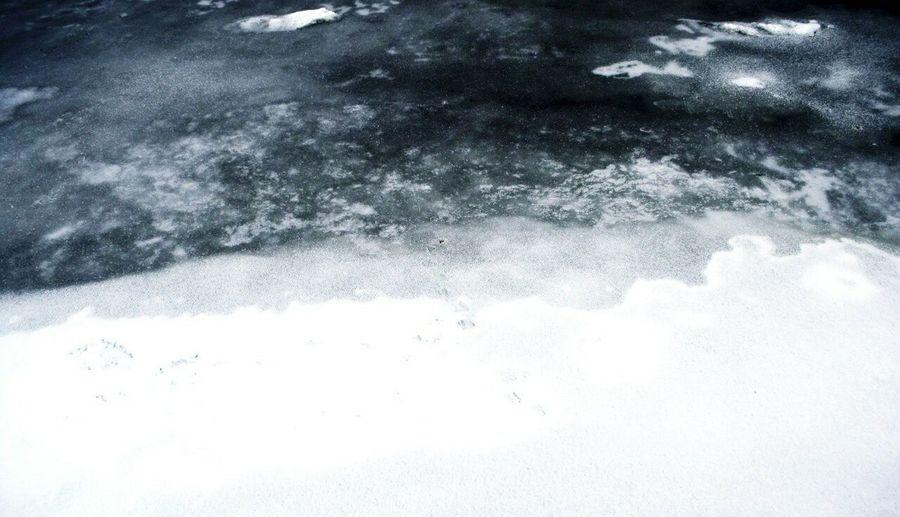 Showcase: January Cold Minimalism Winter Ice Water