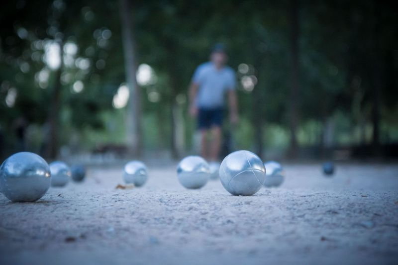 Sport Ball Selective Focus Leisure Activity One Person Men Lifestyles Outdoors Sphere