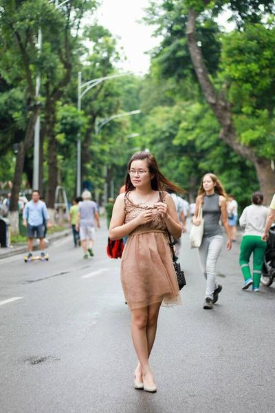 Battle Of The Cities Street Road Young Women Walking Outdoors Person