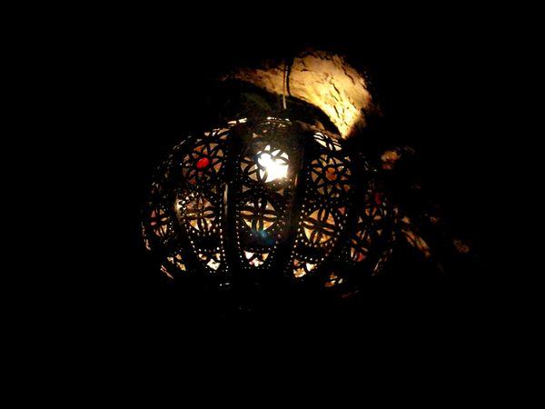 Glass Nightphotography Architecture_collection Exotic Lighting Light And Shadow Lantern Arabic Influence Arabian Mediterranean  Warm Glow Glass Lantern
