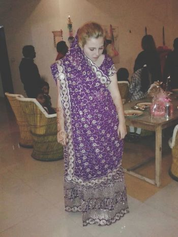 Well this is me a year ago in India, at my sisters wedding! Travel India Henna