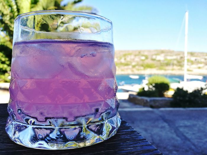 Drink Drinking Glass Refreshment Summer Alcohol Close-up Relax Relaxing Vacation Yachting Yachting Life Cocktail Cocktail Time Apperitif Appreciate The Little Things In Life Pink Pink Drink Life Optimism Vividness Greece