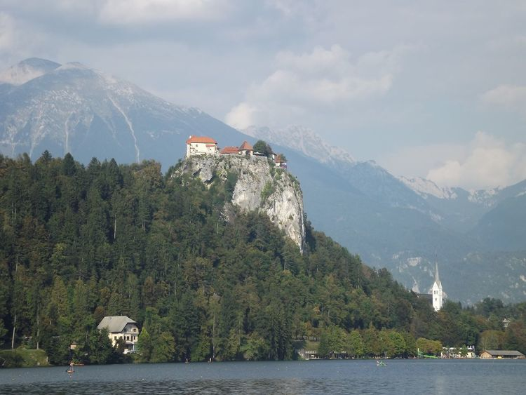 Bled Bled Castle Bled Island Bled Lake Slovenia BledCastle Castle Slovenia Architecture Beauty In Nature Building Exterior Built Structure Day Mountain Mountain Range Nature No People Outdoors Range Scenics Sea Sky Tree Water Waterfront