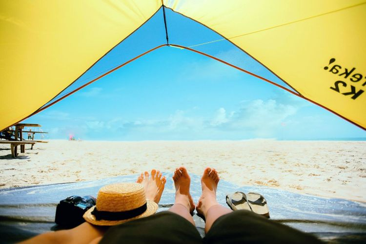 How Do We Build The World? Vacation Travel Traveling Enjoy Point Of View Wake Up Beach Camping Morning Showcase March Amazing View Sand Travel Photography