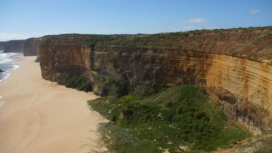 Australia Australian Landscape Beach Beauty In Nature Cliff Day Landscape Nature No People Outdoors Sand Scenics Shyraphotography Sky Water