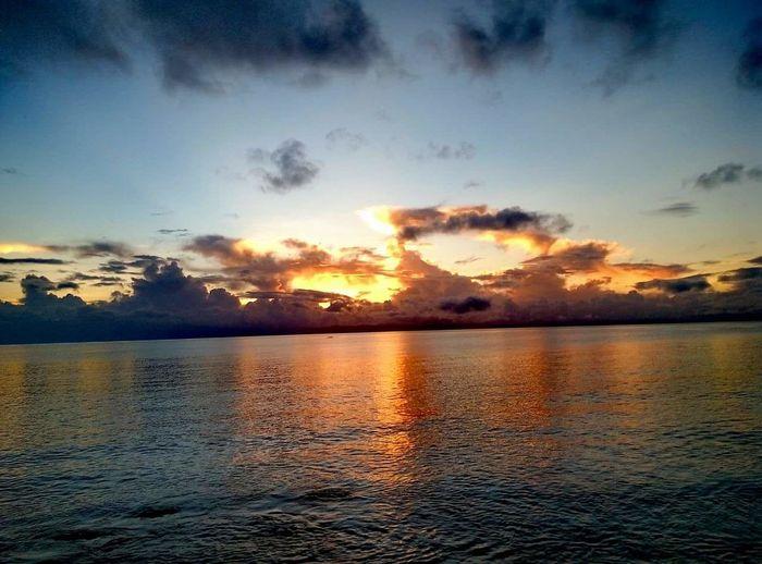 Sun Water Beauty In Nature Cloud - Sky Sunlight