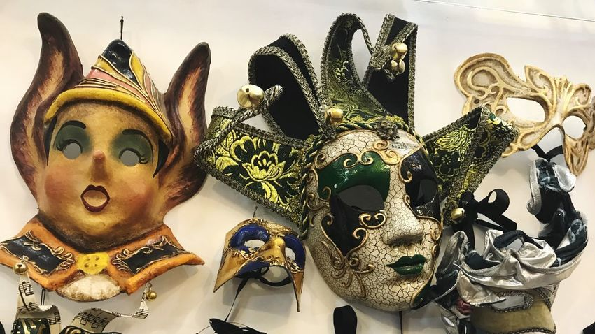 Concealment Costume Rome Europe Mask - Disguise Venetian Mask Mask Carnival - Celebration Event Carnival Ornate Disguise Costume No People Arts Culture And Entertainment Indoors