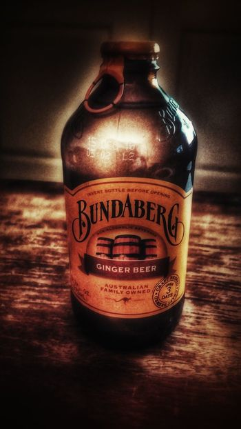 Mighty fine beverage... Ginger Beer Bundaberg Product Placement Snapseed