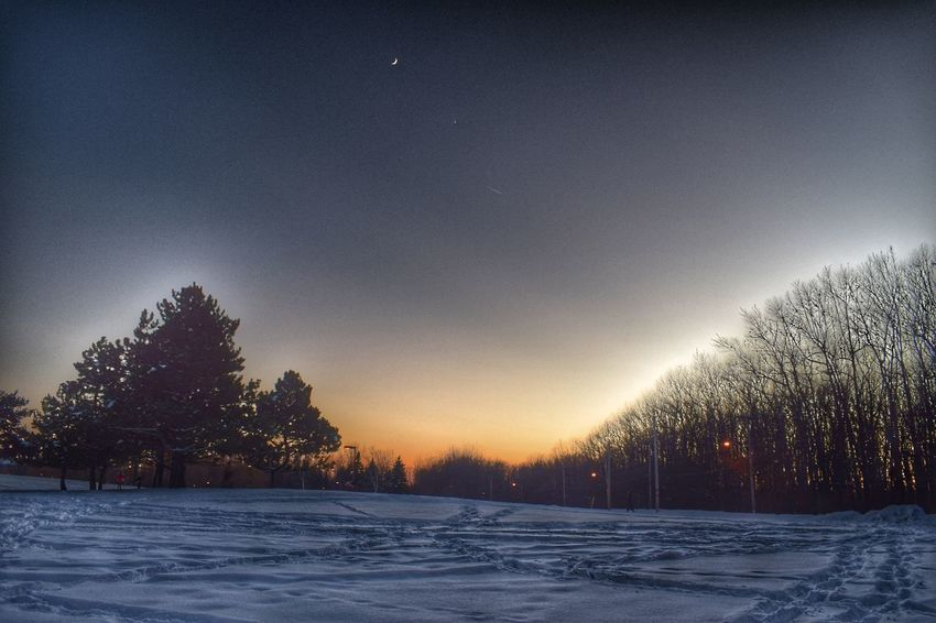 Winter Snow Night Scenics Astronomy Landscape The Great Outdoors - 2017 EyeEm Awards The Great Outdoors - 2017 EyeEm Awards