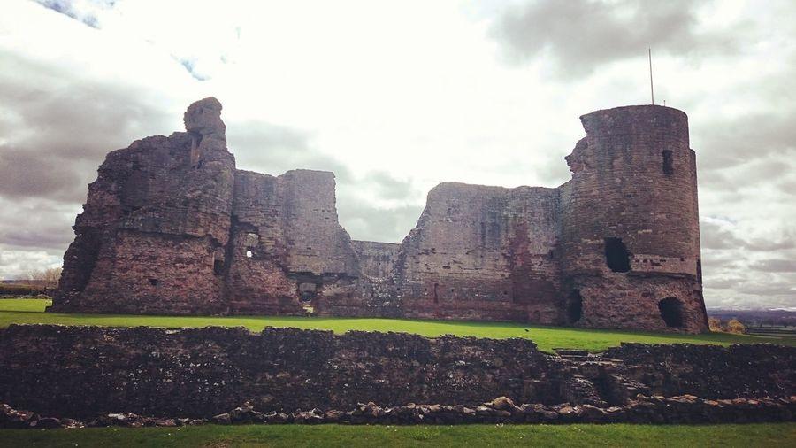 Rhuddlancastle Rhuddlan Castles Castle Historical Building