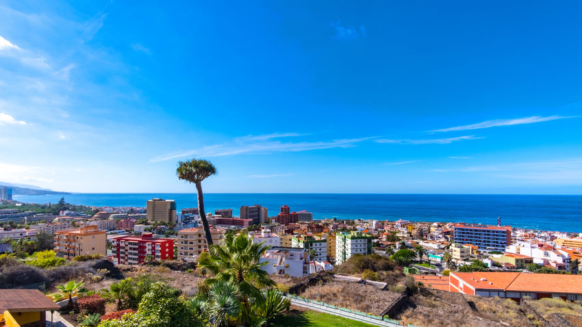 Puerto de la Cruz in the sign of plants and flowers. This week, from October 15 to 21, 2018, the town of Puerto de la Cruz, located on the north coast of Tenerife, is characterized by flowers, flowers and plants. Guided tours through gardens, lectures and botany events take place all over the city. This one-week event is about the flora of the Canary Islands, especially Tenerife. What few know: Here on the island there are almost 500 only on Tenerife occurring and unadulterated plants. Today on the second day I visited the extensive parks on the mountain Taoro. I photographed these pictures of the vegetation and the view of the city today on the 16th of October. More pictures and information will follow later this week. Park Puerto De La Cruz Teneriffa Tenerife Taoro Taoro Park Plants Flowers Flora Botany Garden Touristic Travel Palms Traveling Tourist Destination Travel Photography Landscape_Collection Landscape_photography Building Exterior Built Structure Cityscape TOWNSCAPE Residential District Sea
