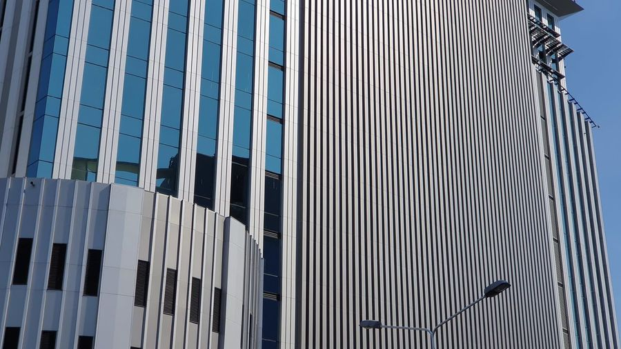 Modern Pattern Sky Architecture Building Exterior Built Structure Close-up LINE Office Block Architectural Design Glass Building Backgrounds Architectural Detail Repetition Downtown Architectural Feature Architecture And Art