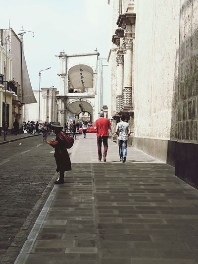 Street City City Street Outdoors Full Length Walking Day Adults Only People Real People One Person Peruvianproblems Peru Perú ❤ Peruvian Culture