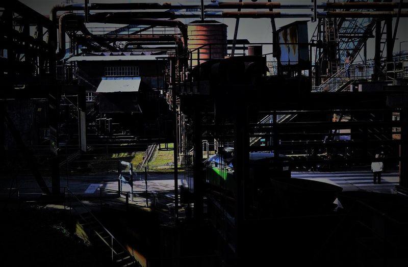The Secret Spaces .....don't Go There Architecture Built Structure Eyeem Streetphotography Eyeem Industrial EyeEm Best Shots Eyeemphotography Light And Shadow Lighting Equipment EyeEm Weltkulturerbe No People Industry Völklingerhütte City Day in Völklingen Völklingen Germany