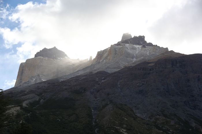 Mountain Scenery Landscape Wilderness Peak Sky Adventure Height Nature High Outdoors Range No People Day TorresDelPaine Chile Travel Destinations Traveling