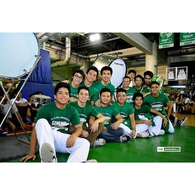 Uaap77 Animorally Animorally2014 Animo dlsu greenarchers sports sendoff themanansala animosquad drumline