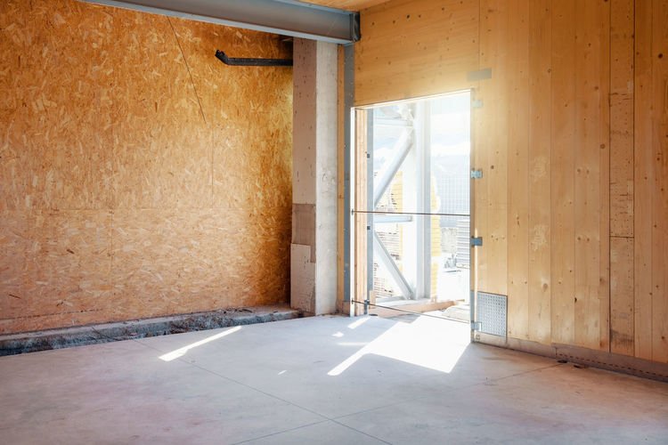 Construction Site Abandoned Absence Architecture Building Built Structure Clean Day Domestic Room Door Empty Entrance Flooring Home Interior Indoors  Nature No People Sunlight Wall - Building Feature Window Wood - Material