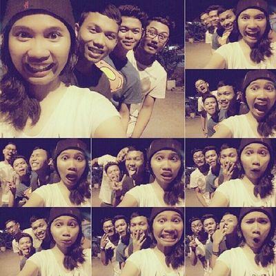 the most craziest selfie ever. Hahahahah Hitzselfie Hitzselfie Selfiekingkongkepalahotakko