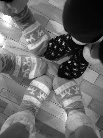 Real People Human Leg Socks Selfie Monochrome Socks Of The Day SOCKS!!!