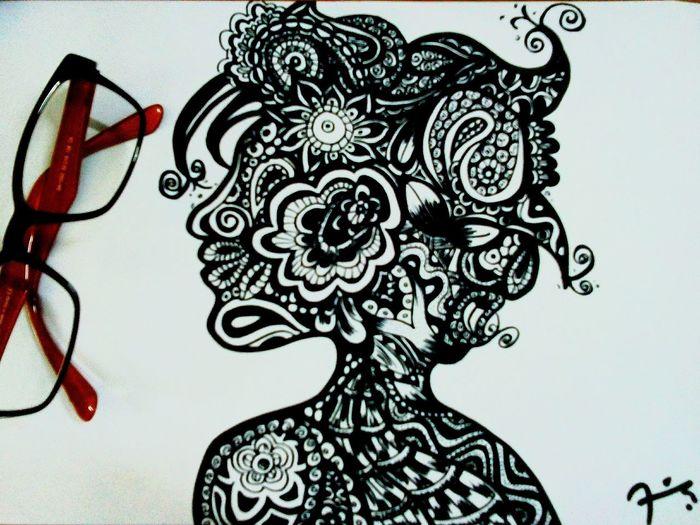 Super woman is my mom.. Doodleart Doodle Doodler Woman Power
