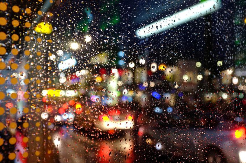 Berlin night Night Berlin City Rain Nightlife Car Colors Drop Window Illuminated Wet Transportation RainDrop Nachtleben Transparent No People Wassertropfen Rainy Season Farbenspiel Streetphotography