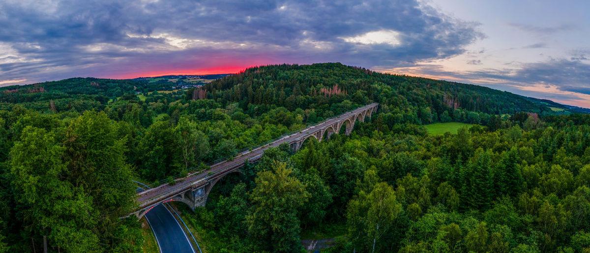 Abandoned lost place nature bridge railroad