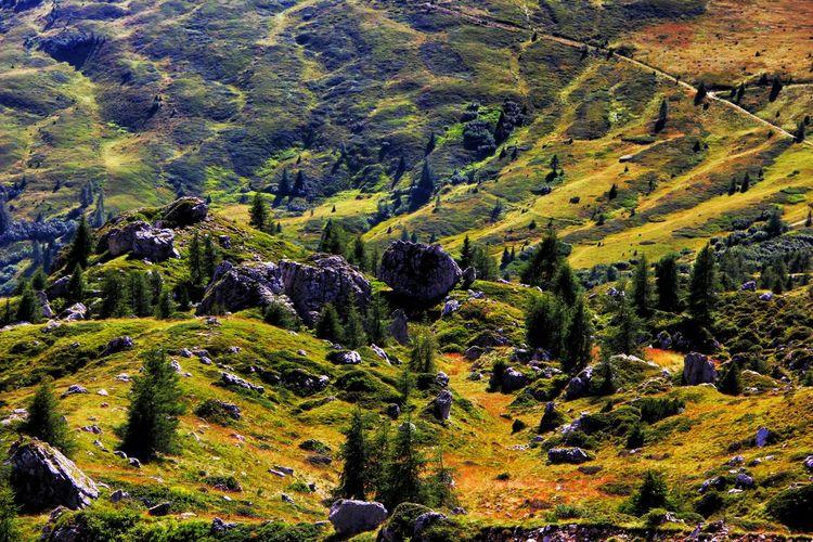 Scenic View Of Landscape At Cortina D Ampezzo