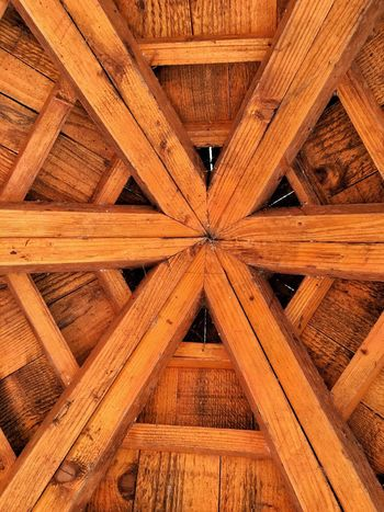 Roof Architecture Wood - Material Backgrounds Built Structure Full Frame Indoors  No People Day Close-up