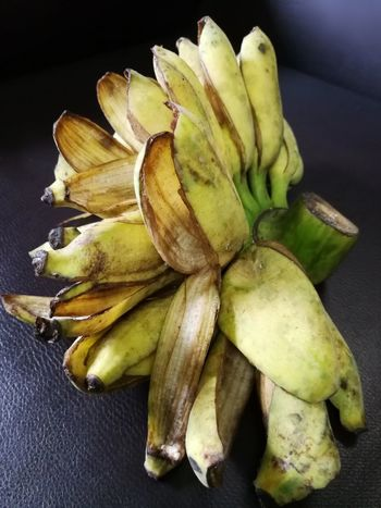 Banana Close-up Day Food Food And Drink Freshness Healthy Eating High Angle View Indoors  No People Raw Food Table