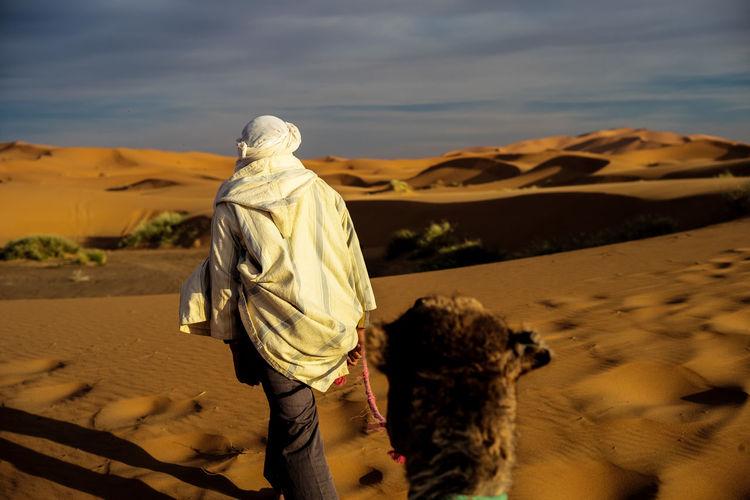 Desert Deserts Around The World Erg Chebbi Morocco Sahara Sunset Camel Berber  Sunsets Adventure Club 43 Golden Moments