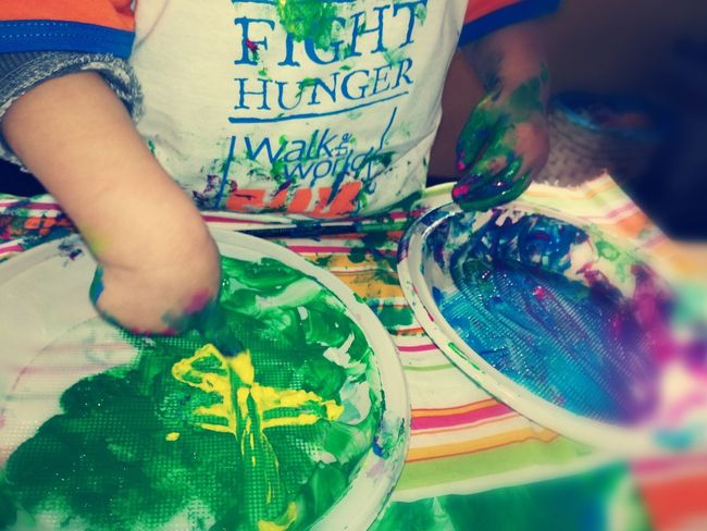 Human Body Part Multi Colored Nephew ♡ Artattack Colors Drawing Paint Childhood Dayoff AuntieTime Babyboy ❤ 2017 Picoftheday