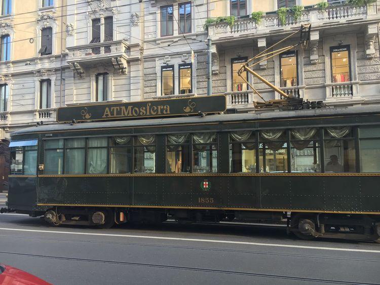 Atmosfera Tram Milano Italy Resturant
