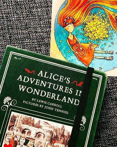 Lieblingsteil Notebook Notes From The Underground Postcard Showyourwork Work Working Book Books Books ♥ Alice In Wonderland