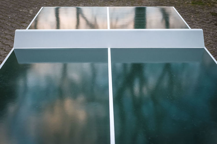 Abstract Abstract Photography Empty Fall Colors Fujifilm X-E2 Graphic No People No Sports Outdoors Reflection Simplicity Street Photography Streetphotography Surprise Surrealism Tabletennis Tranquility TakeoverContrast