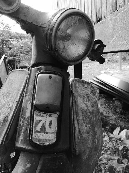 Day Outdoors Adults Only Close-up Black & White Monochrome Honda Honda Cup Monochrome Photography No People