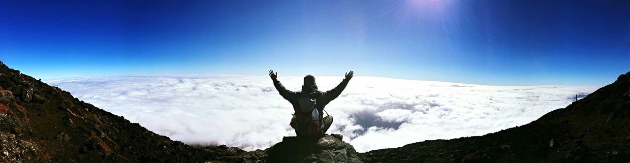 Over The Clouds Pico Azores Islands Highestmountain of Portugal