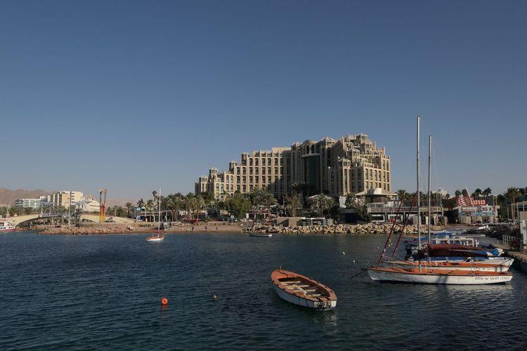 EyeEm Selects Beachside Eilat Israel Travel Destinations Red Sea Hotels Area