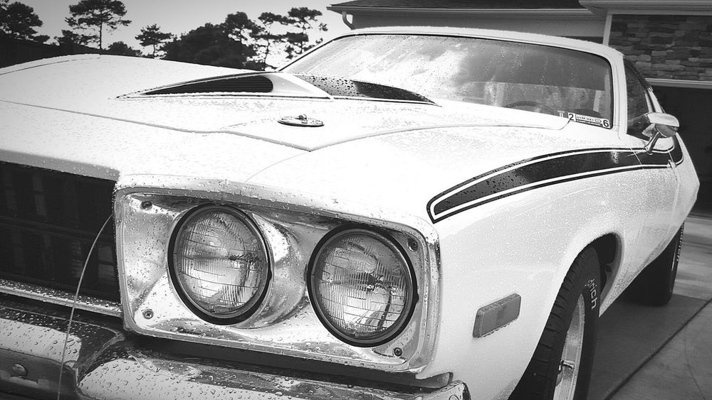 Taking Photos Connellsville Bnw Bnwphotography AmericanMusclecars