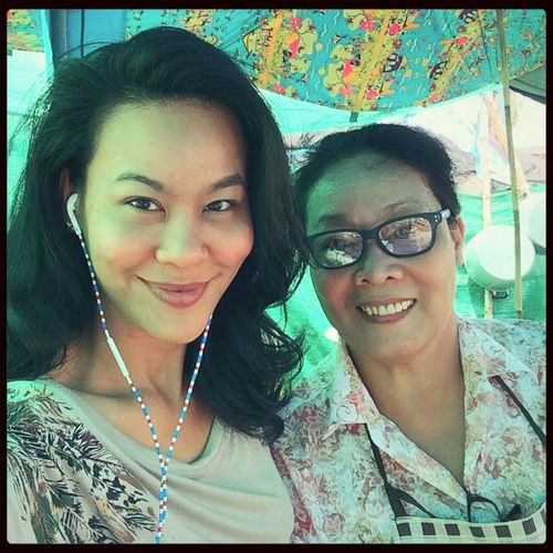 With my Mommy =] Selfie Potrait Family Outing