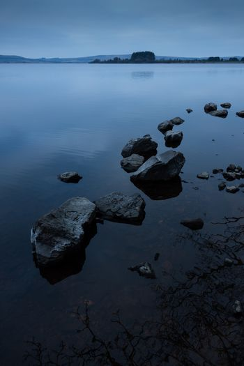 Once upon a time Water Rock Tranquility Sea Rock - Object Solid Tranquil Scene No People Scenics - Nature Nature Outdoors Reflection Beauty In Nature
