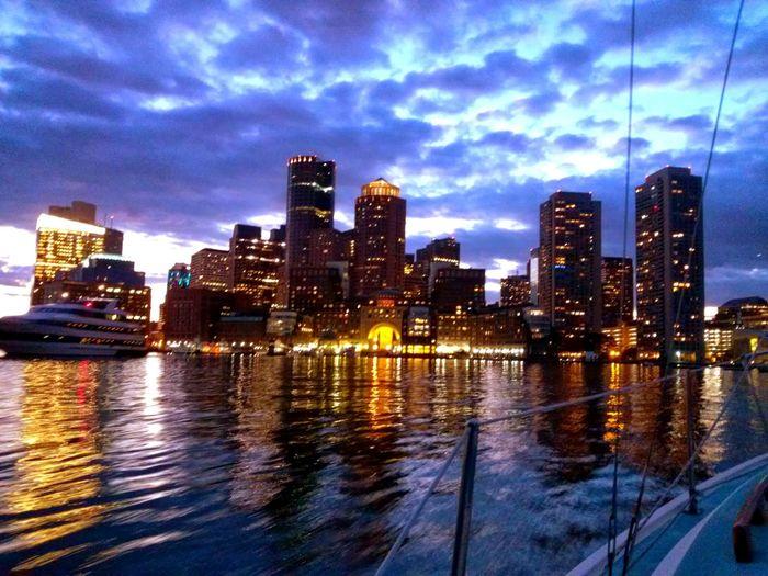 Boston Boston Harbor Sailing