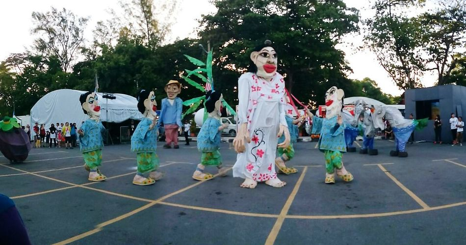 Festival Season Snuff Puppets Performance World Biggest Human Puppet ButterworthFringeFestival 2016 P.Pinang Malaysia